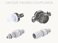 Valved Couplings