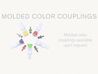 Molded Color Couplings