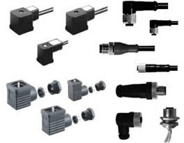 HTP DIN 43650, M*, M12 and 7/8 Connectors