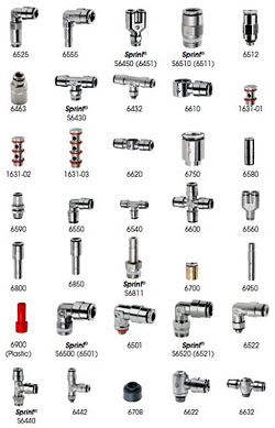 Camozzi Inch and Metric Fittings